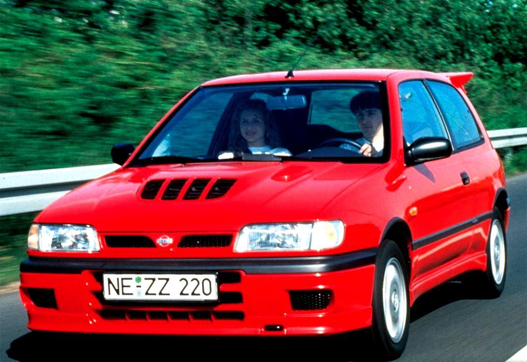 Nissan Sunny Hatchback 1993 On Motoimg Com