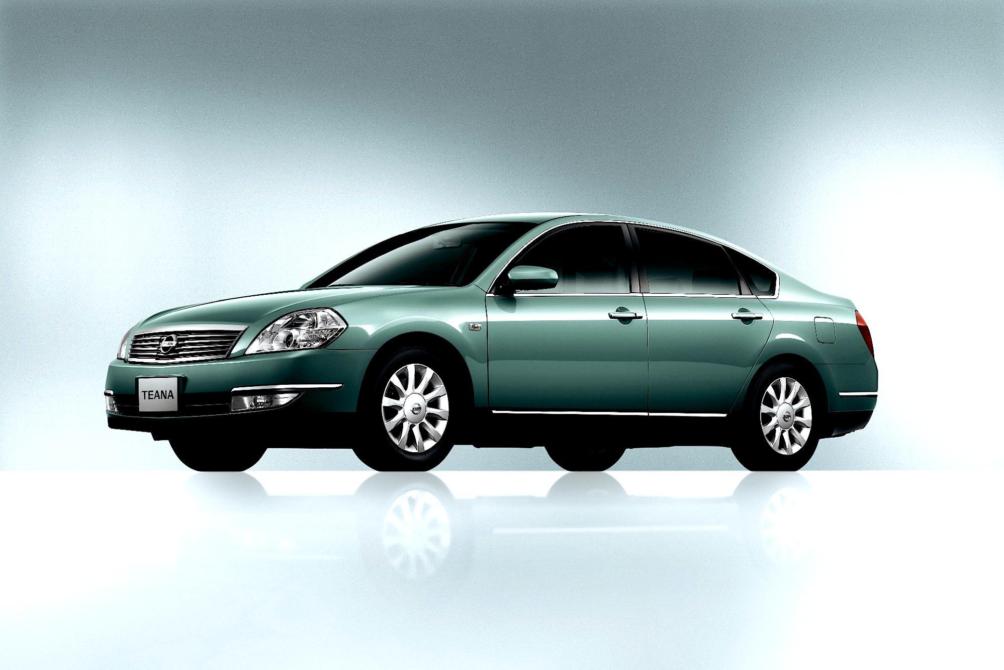 Nissan Teana 2003 On Motoimg Com