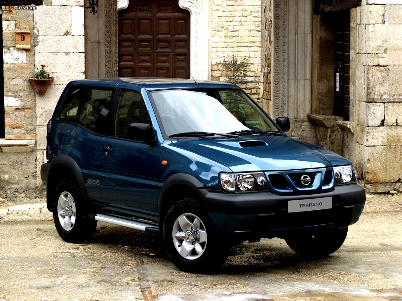 nissan terrano ii 3 doors 1996 on. Black Bedroom Furniture Sets. Home Design Ideas