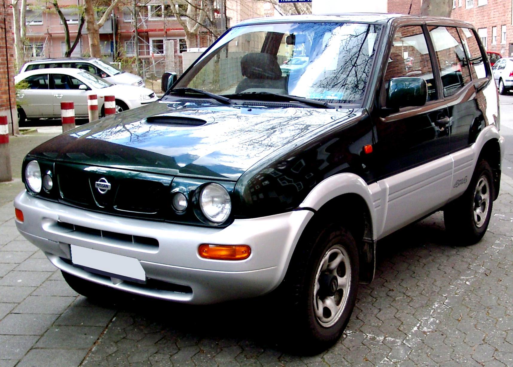 3475ef8f7fc11e Nissan Terrano II 5 Doors 1996 on MotoImg.com