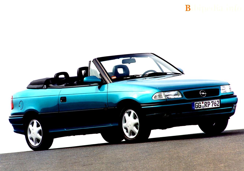 opel astra cabriolet 1995 photos 2 on. Black Bedroom Furniture Sets. Home Design Ideas