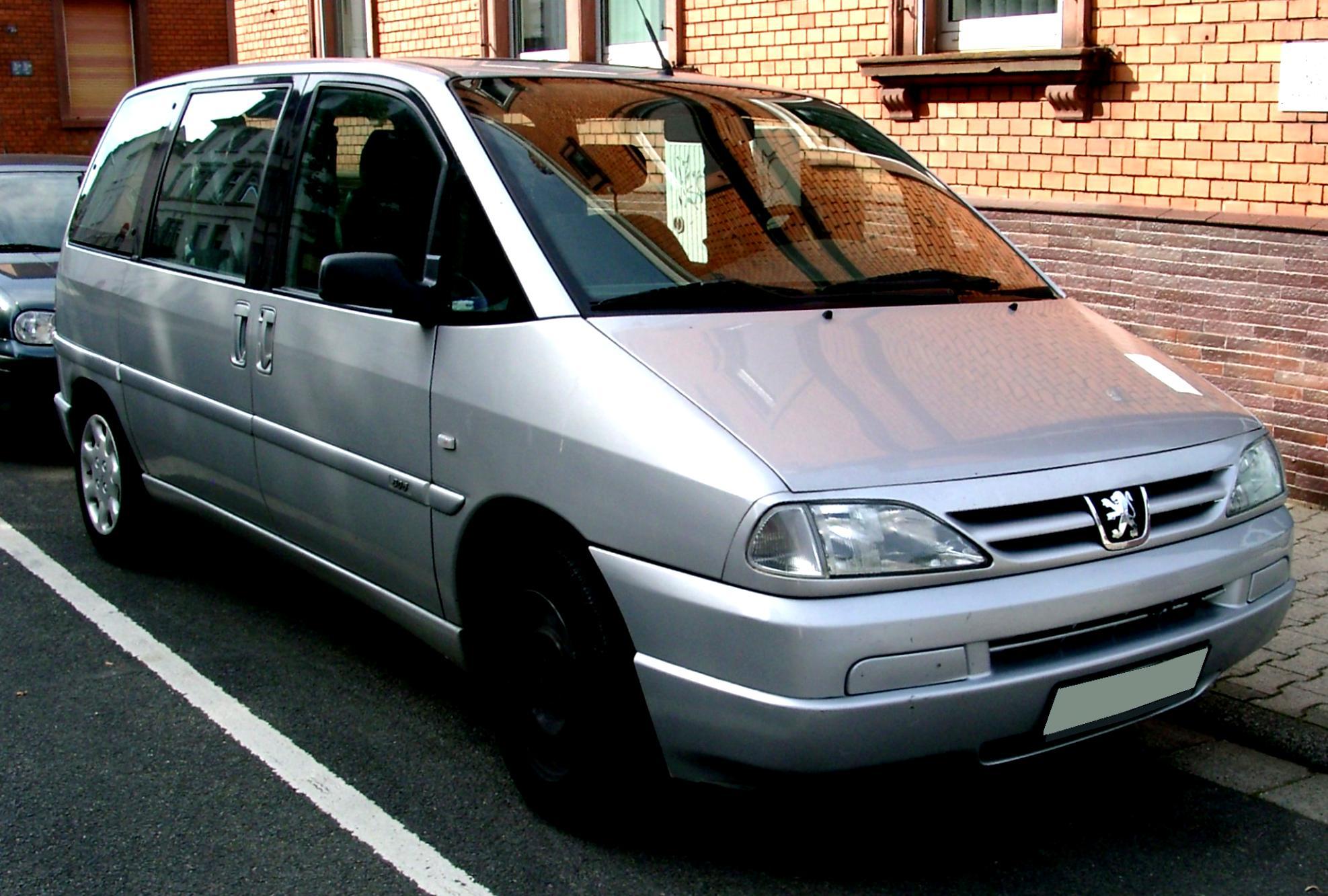 ... Peugeot 806 1998 #5 ...