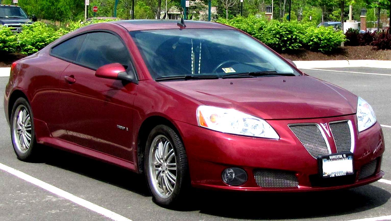 Pontiac G6 Convertible 2008 On Motoimg Com