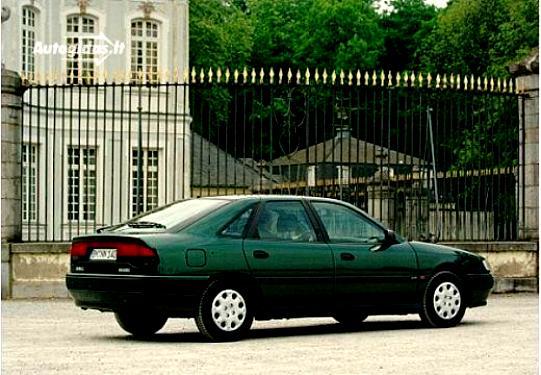 Renault Safrane 1996 On Motoimg
