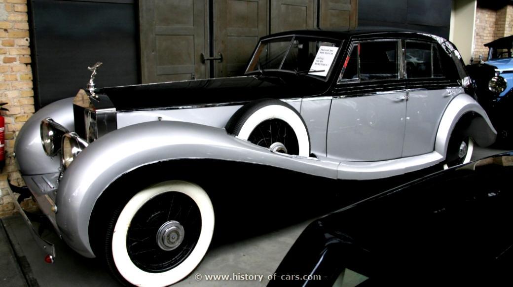Rolls Royce Phantom Ii Continental Sports Saloon By Barker