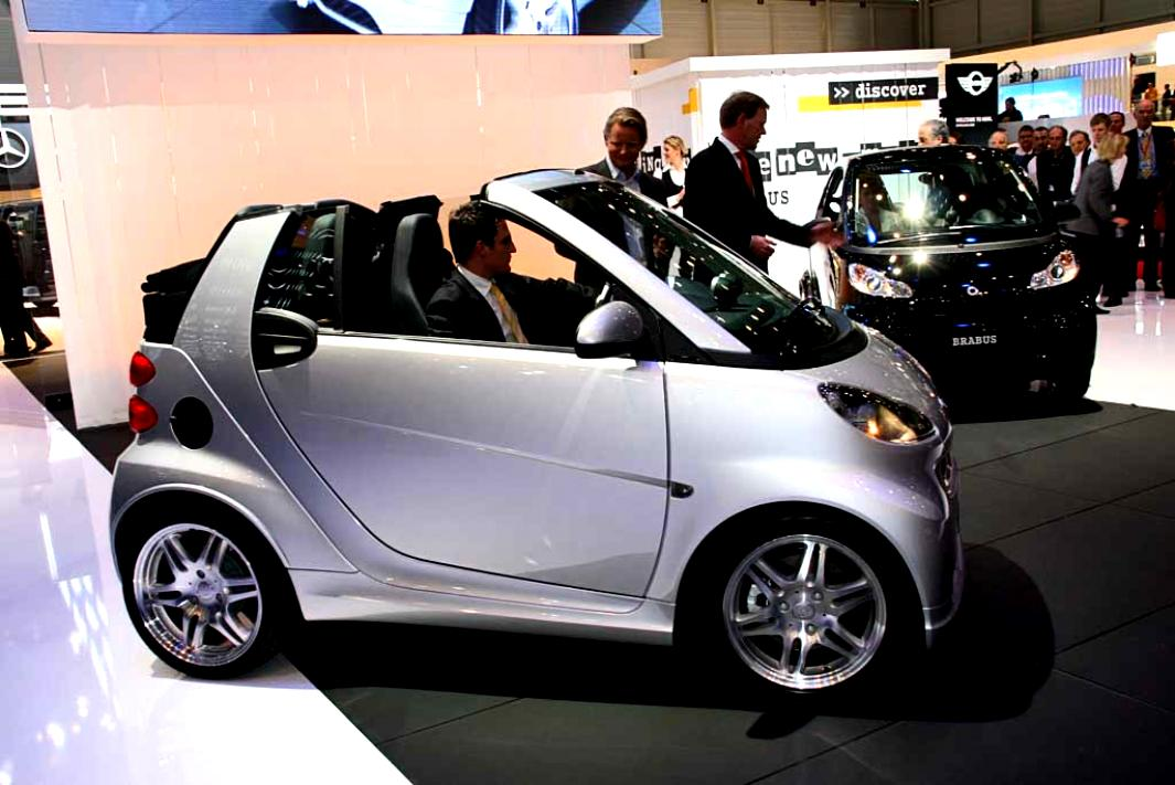 smart fortwo brabus 2007 on. Black Bedroom Furniture Sets. Home Design Ideas