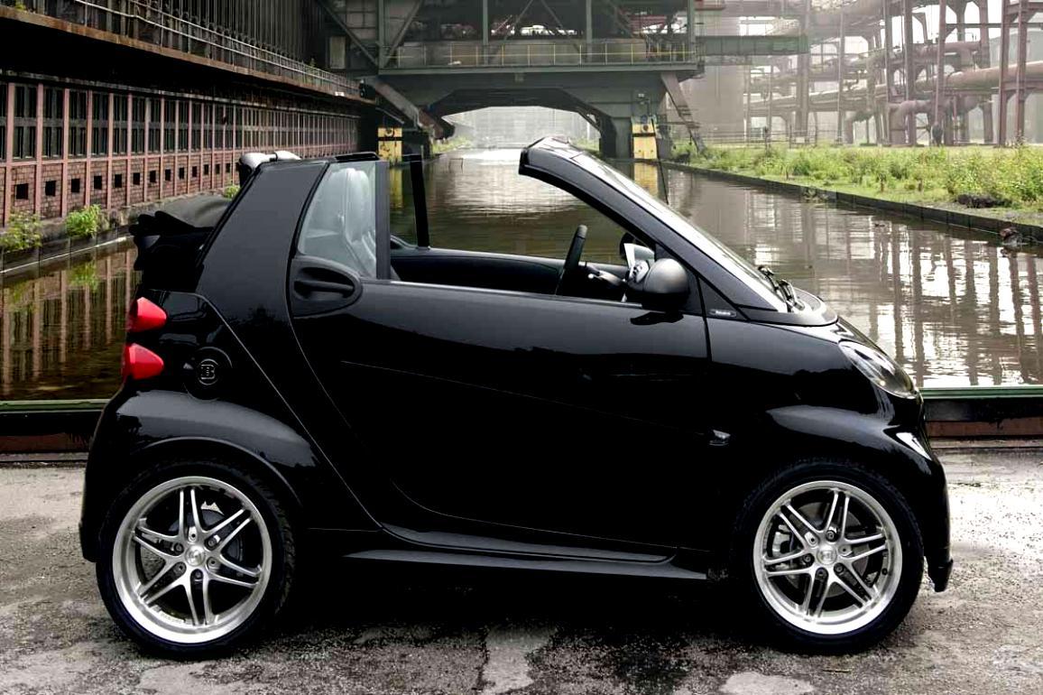 smart fortwo cabrio brabus 2003 7