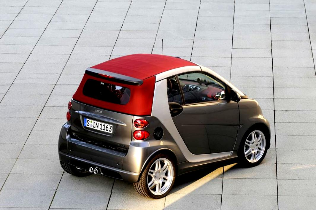 smart fortwo cabrio brabus 2007 on. Black Bedroom Furniture Sets. Home Design Ideas