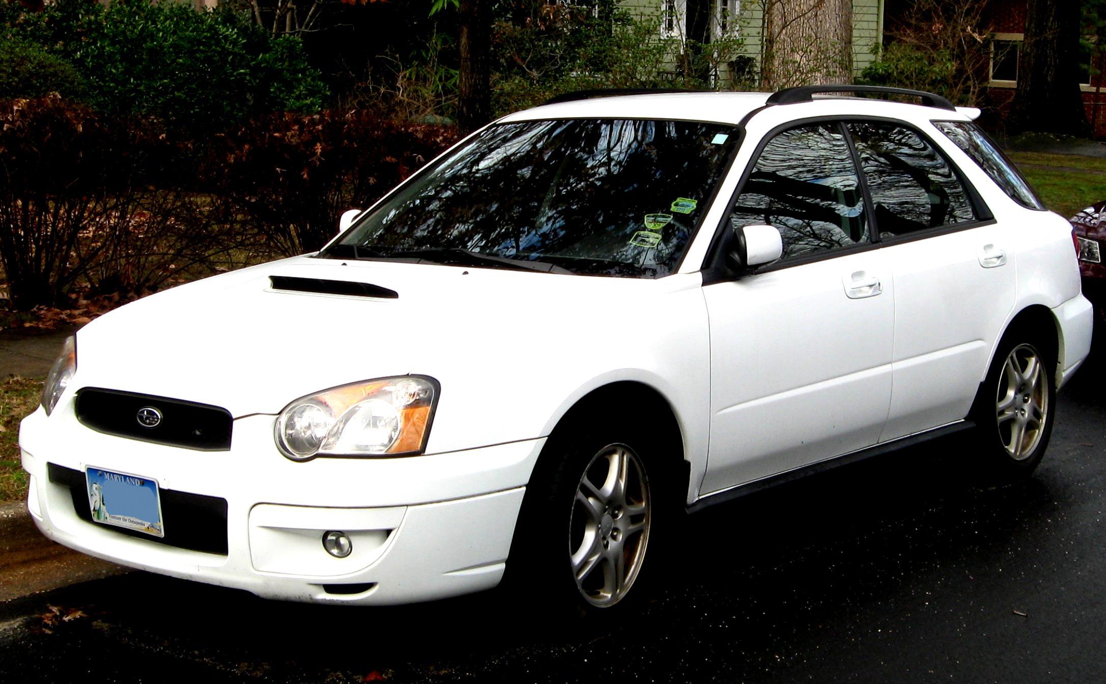 Subaru impreza wagon 2003