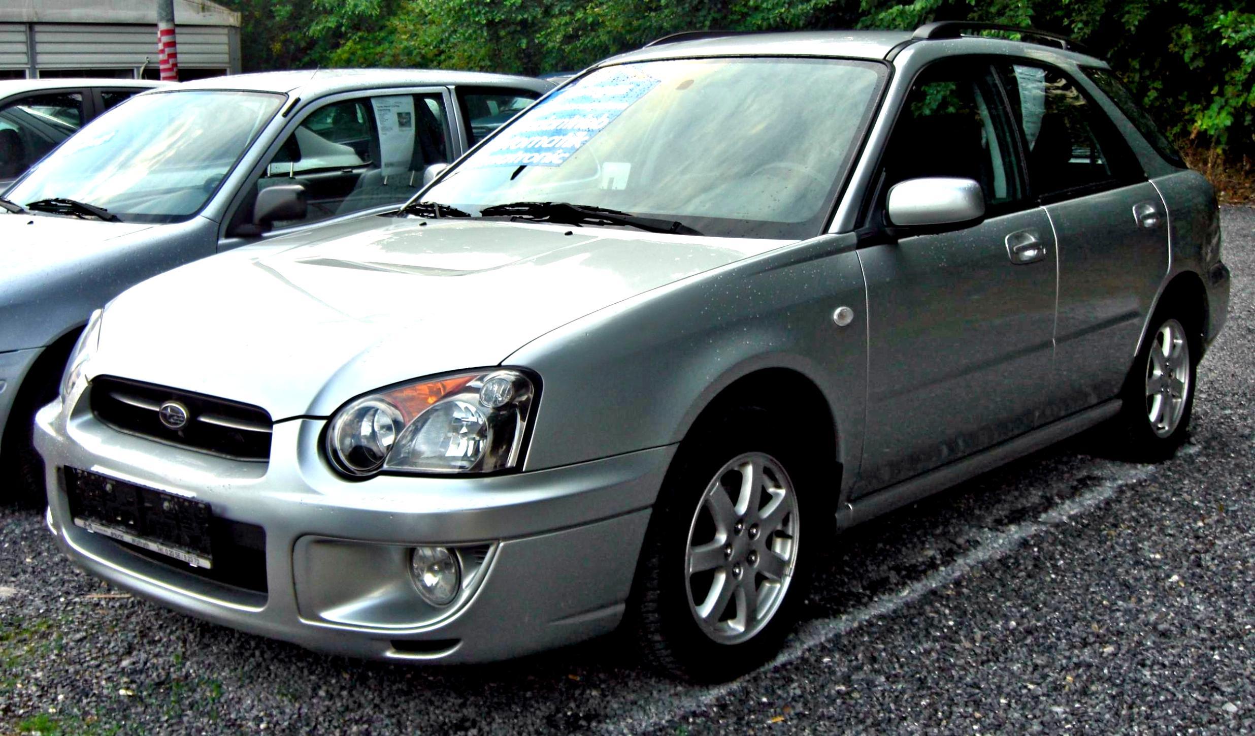 Subaru impreza wagon 2003 2