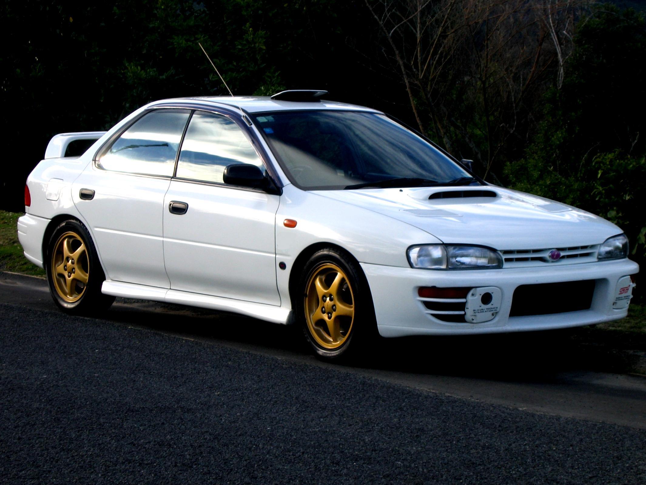 Subaru impreza wrx sti 1998 2