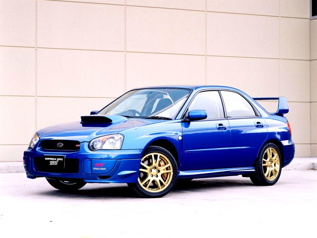 Subaru impreza wrx sti 2001 2