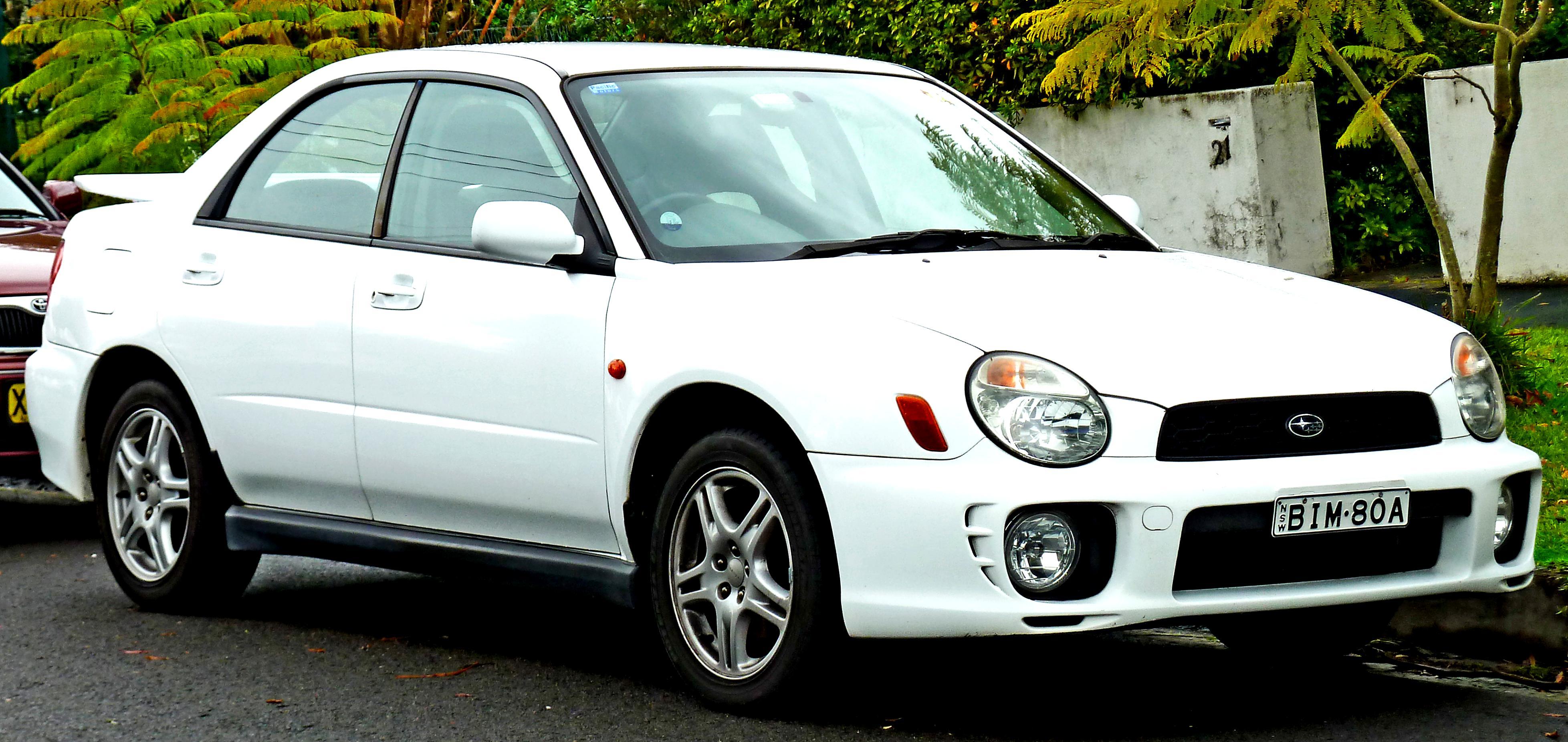 Subaru Impreza Wrx Sti 2001 On Motoimg Com