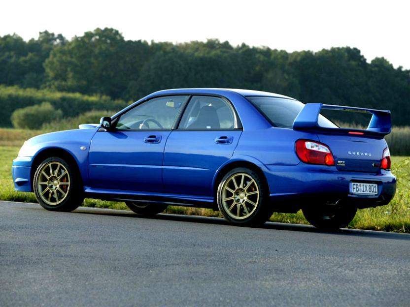 Subaru Impreza Wrx Sti 2003 Photos 7 On Motoimg Com