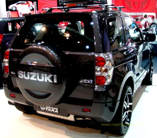 Suzuki Grand Vitara 3 Doors 2008 on MotoImg com