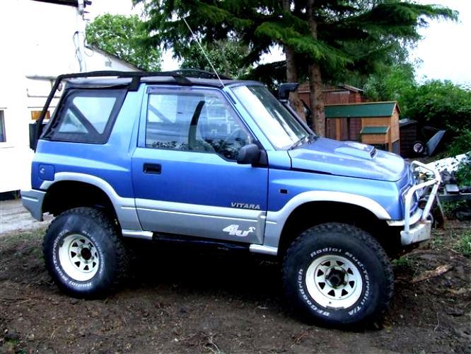 Suzuki Vitara 3 Doors 1989 Photos 29 On Motoimg Com