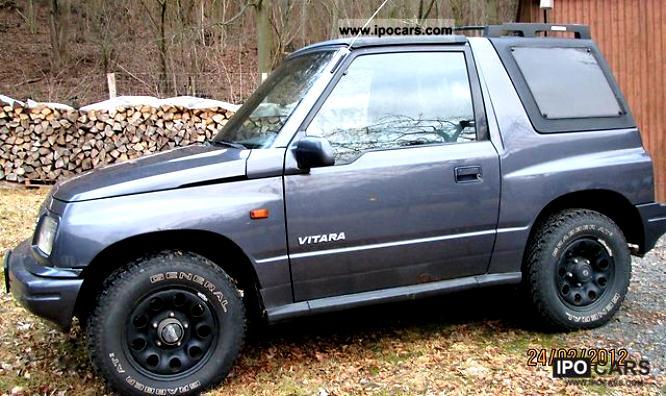 Suzuki Vitara Cabrio 1989 9