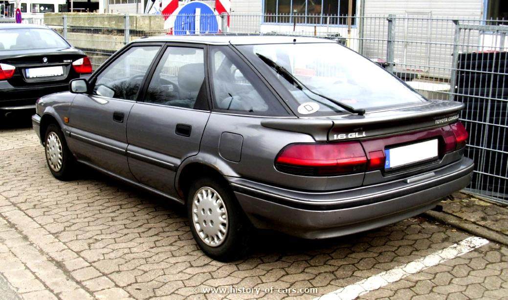 Toyota Corolla Liftback 1987 On Motoimg Com