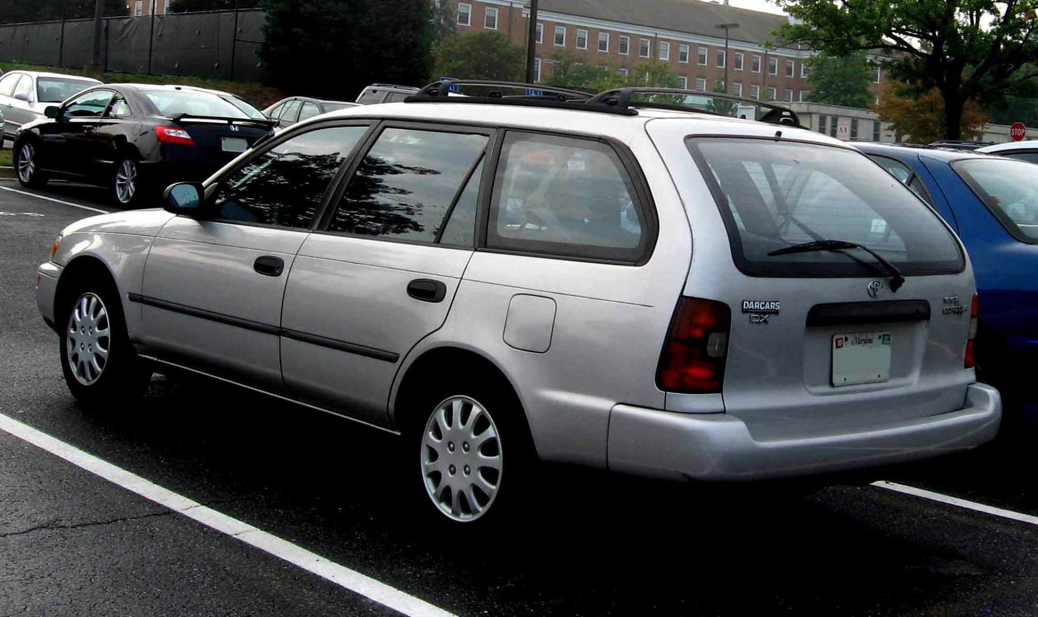 Toyota Corolla Wagon 2000 On Motoimg Com