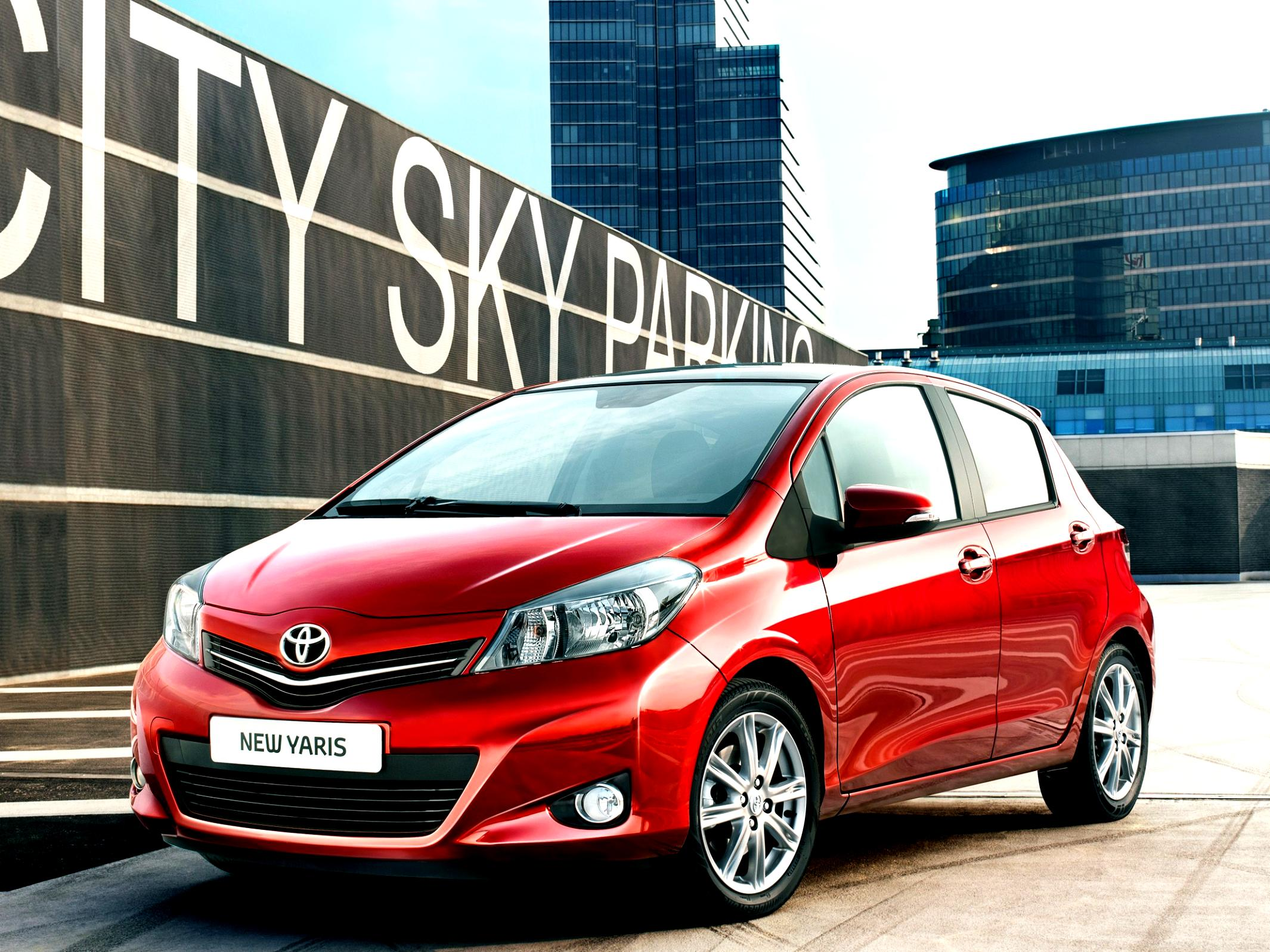 Toyota Yaris комплектация и цены, прайс-лист : Тойота ...