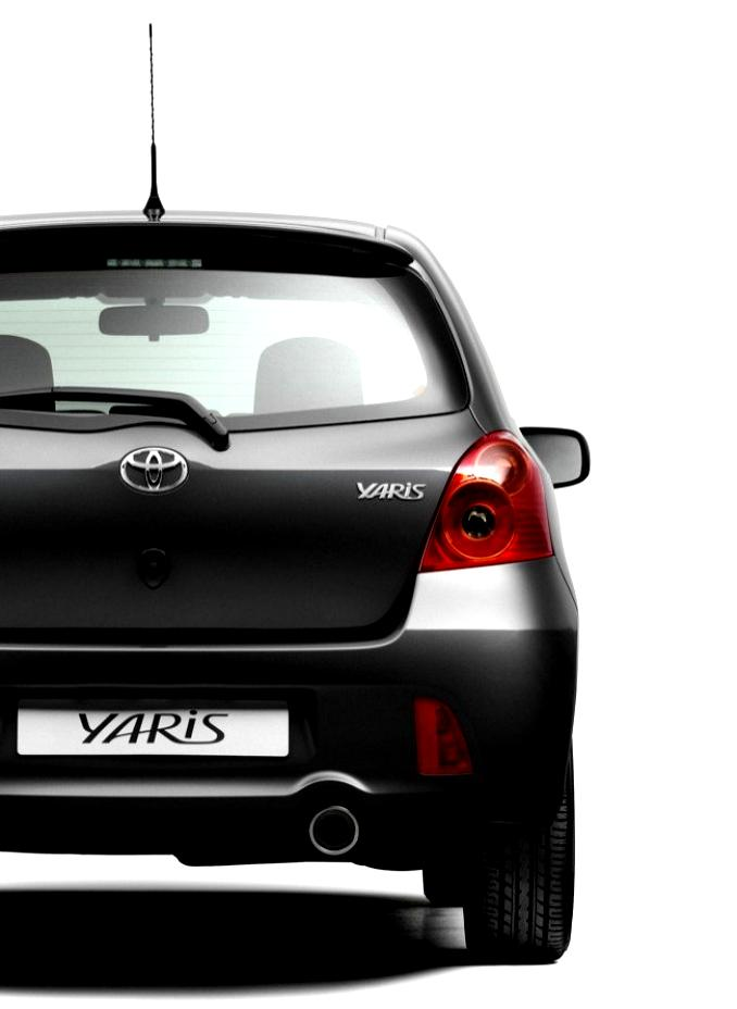 toyota yaris ts 5 doors 2007 on. Black Bedroom Furniture Sets. Home Design Ideas