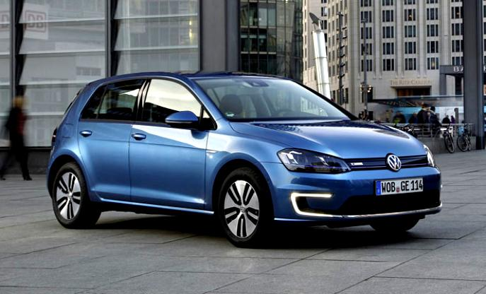 Volkswagen E-Golf 2014 #6