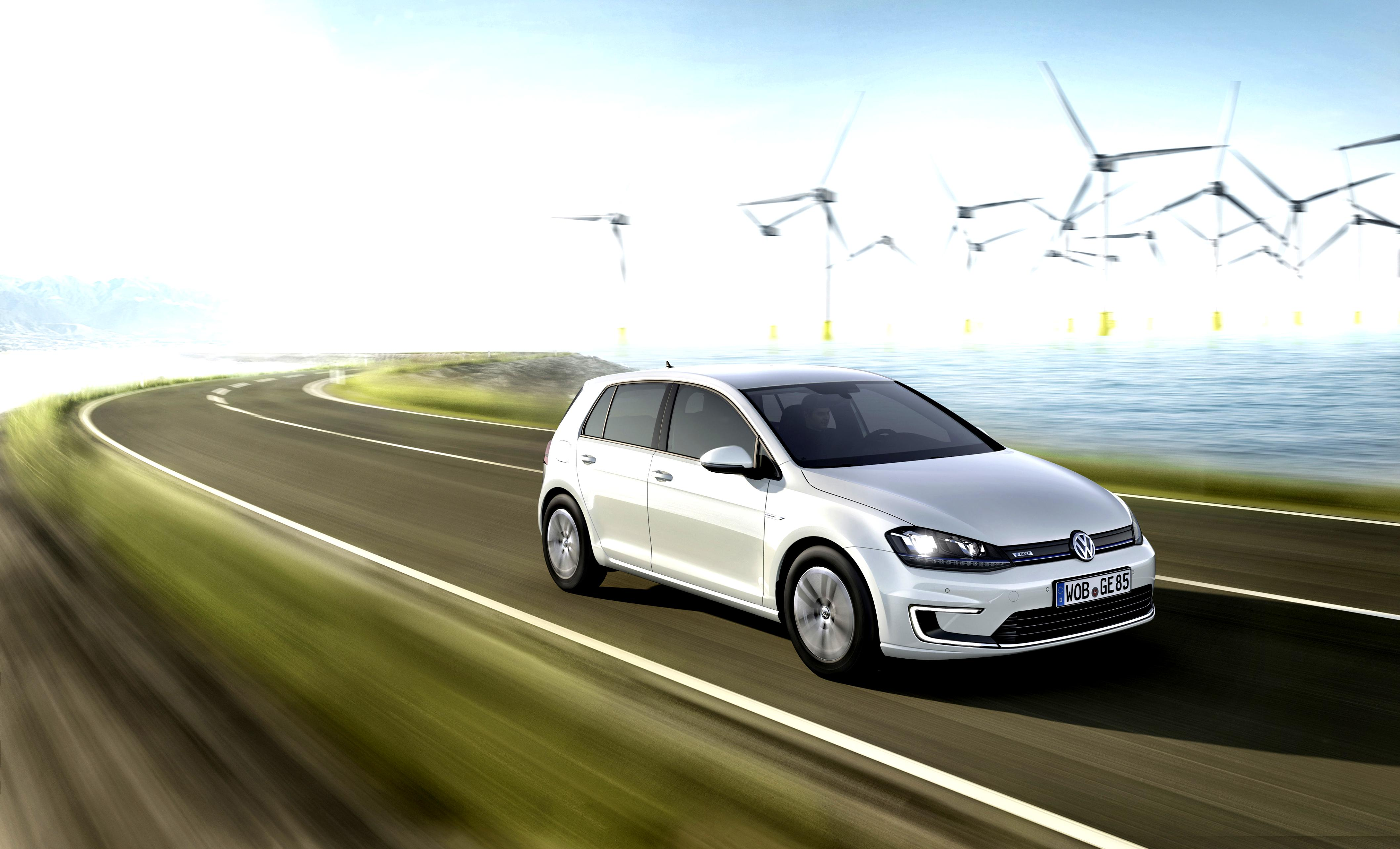 Volkswagen E-Golf 2014 #7