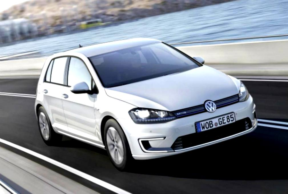 Volkswagen E-Golf 2014 #8