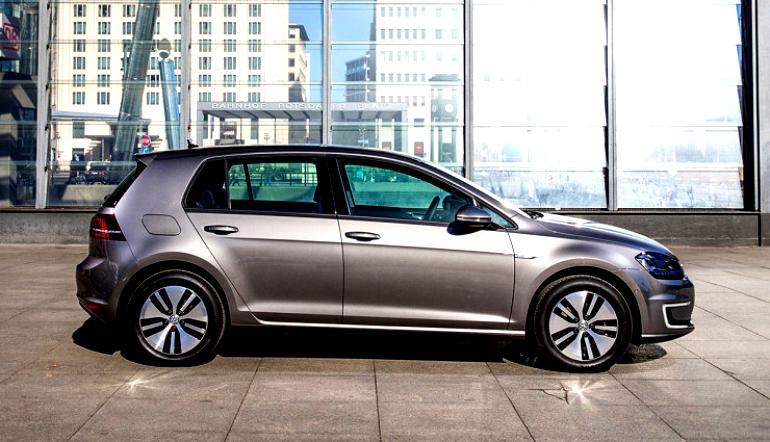 Volkswagen E-Golf 2014 #9