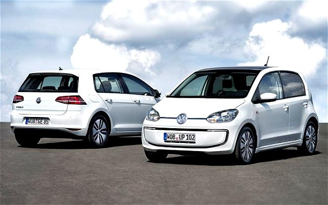 Volkswagen E-Golf 2014 #15