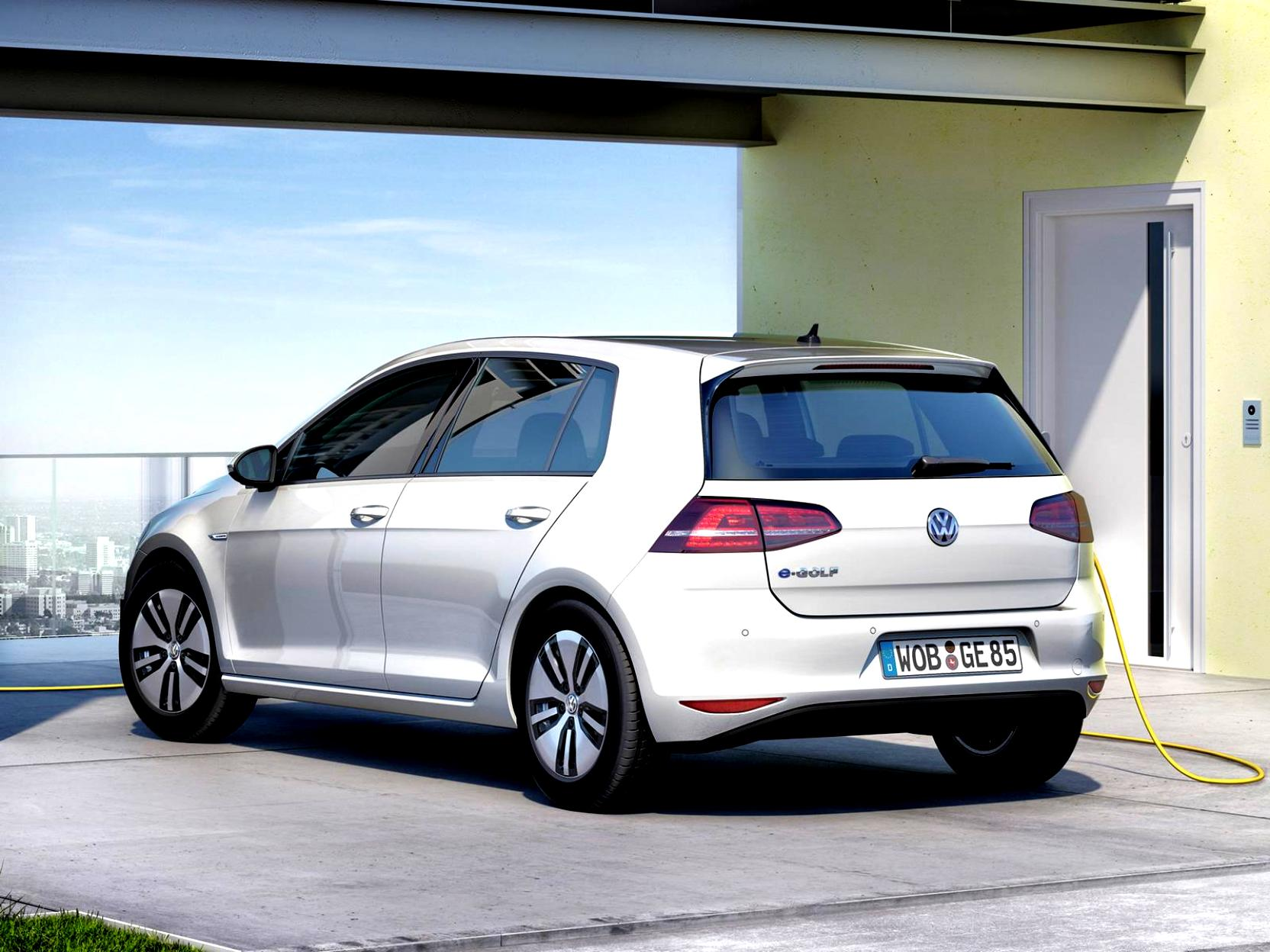 Volkswagen E-Golf 2014 #21