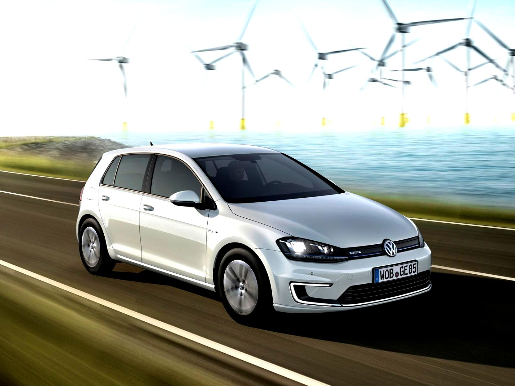 Volkswagen E-Golf 2014 #23