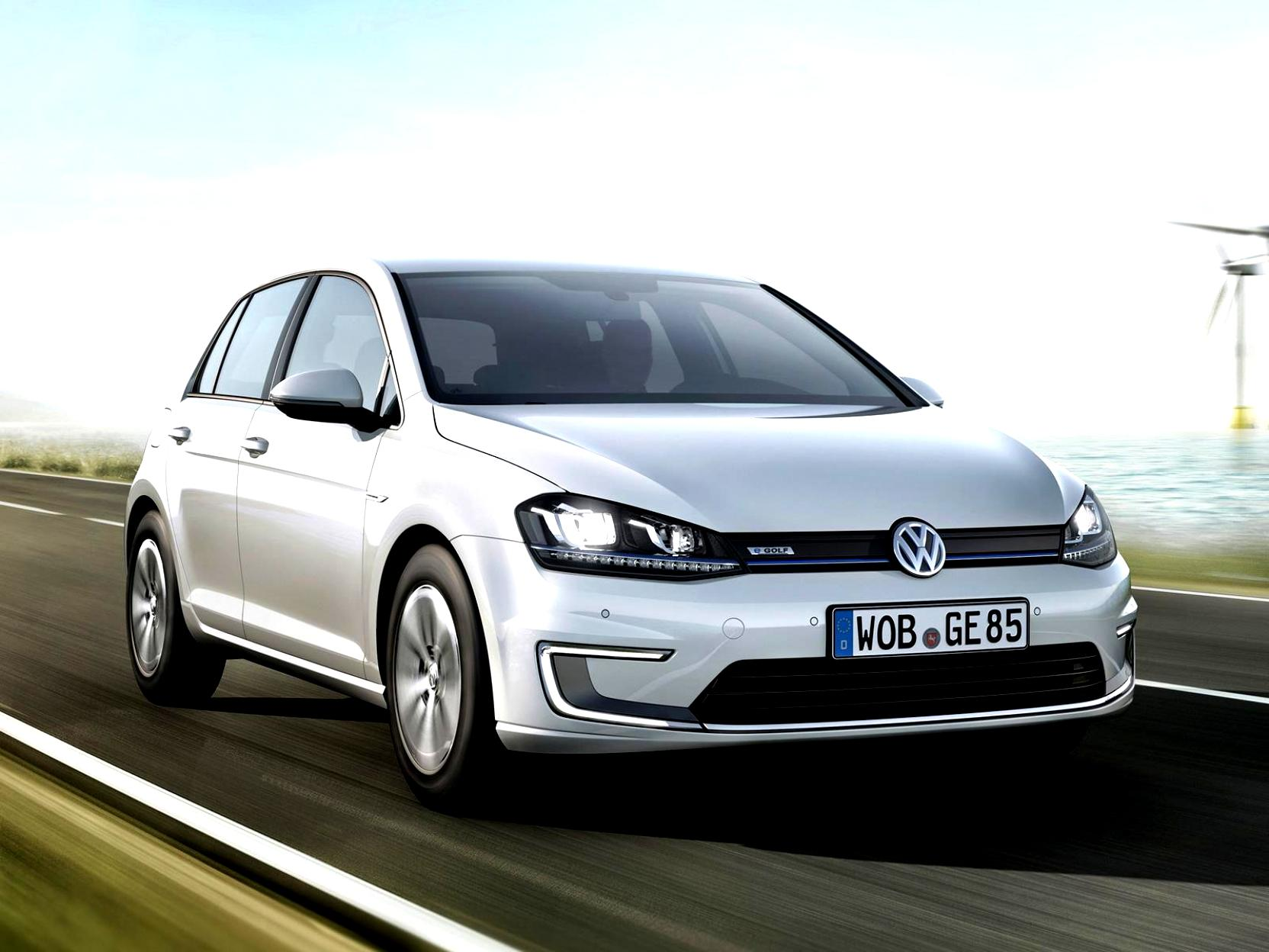 Volkswagen E-Golf 2014 #24