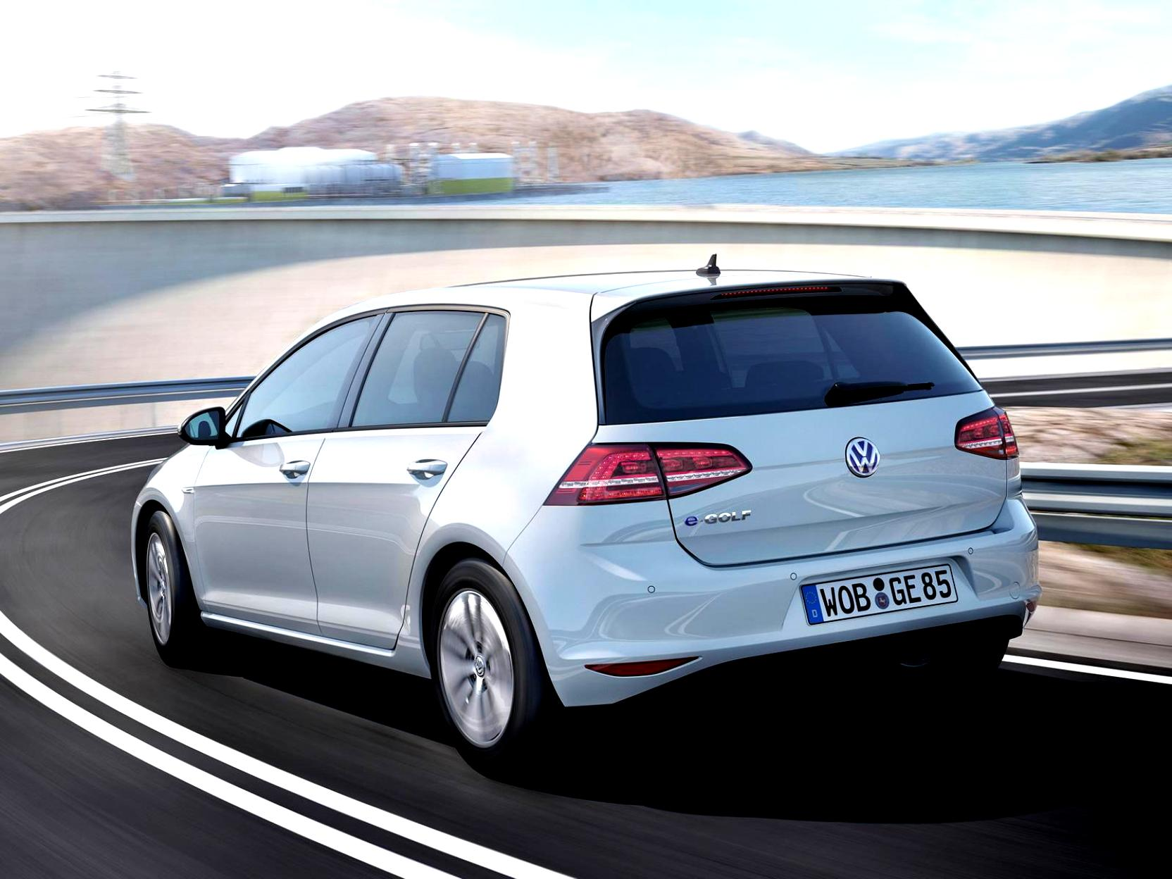 Volkswagen E-Golf 2014 #27