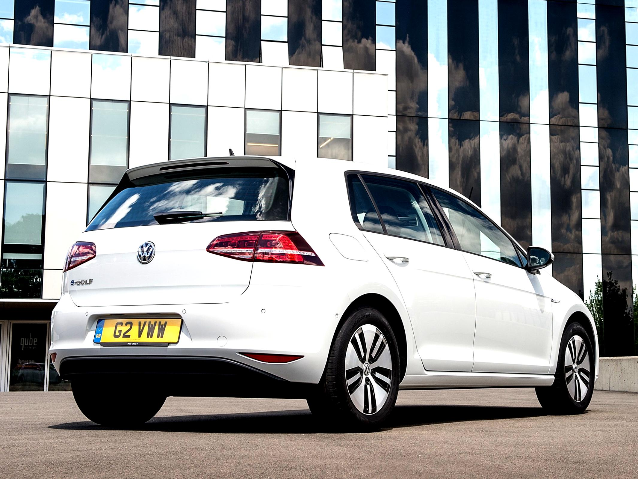 Volkswagen E-Golf 2014 #34