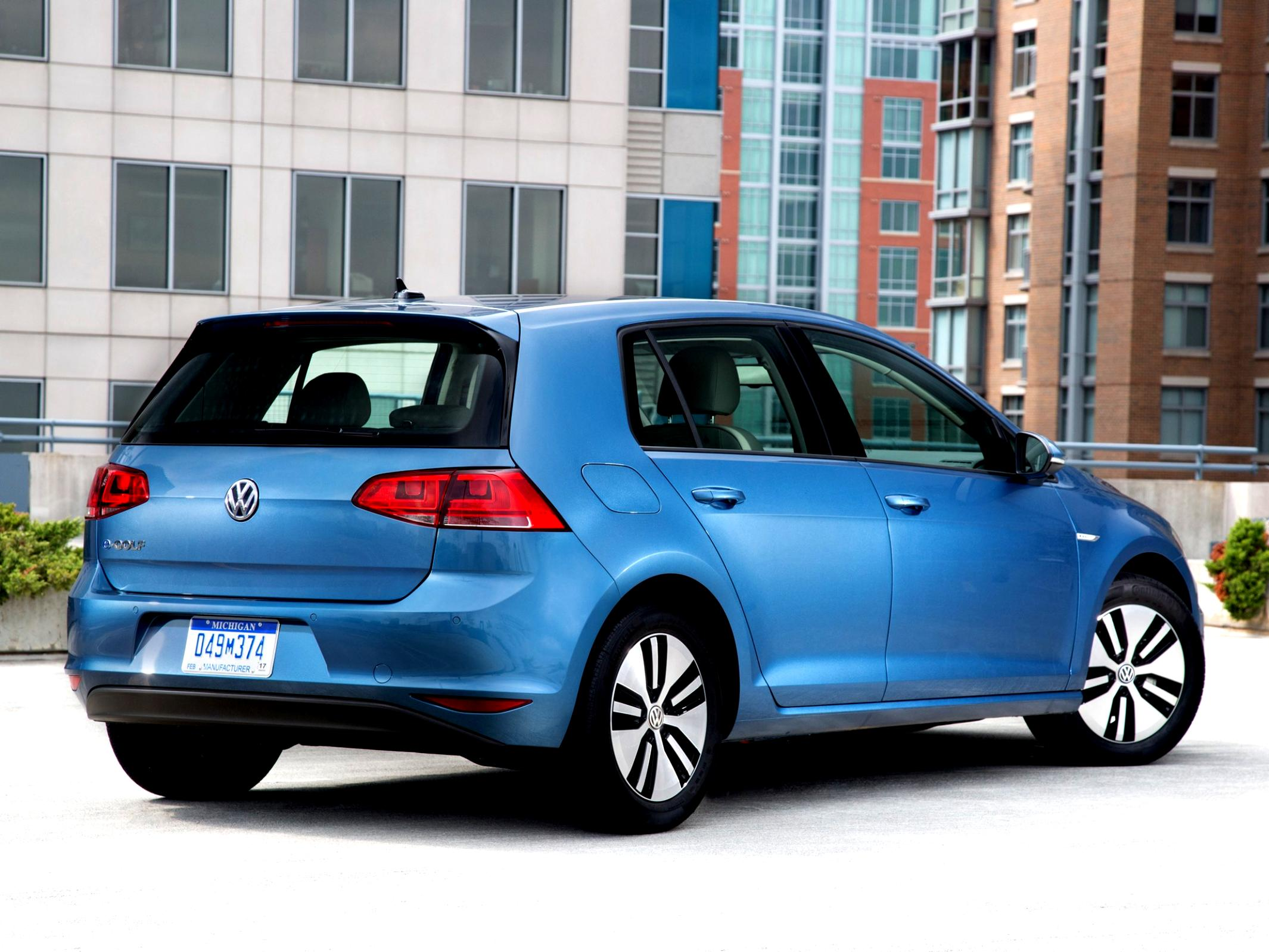 Volkswagen E-Golf 2014 #50
