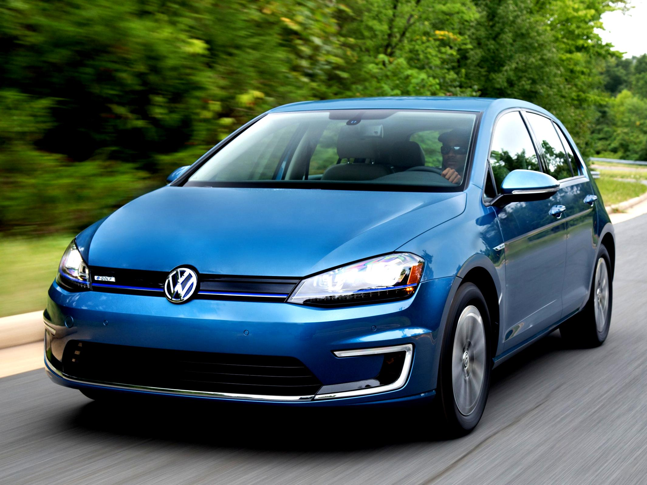 Volkswagen E-Golf 2014 #51