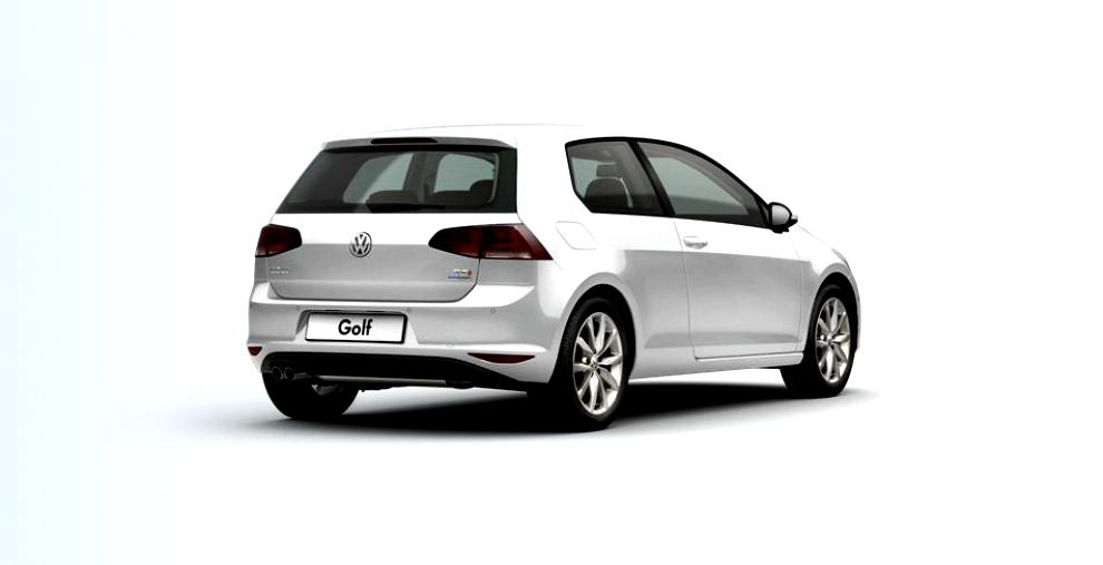 Volkswagen Golf VII 3 Doors 2012 #2