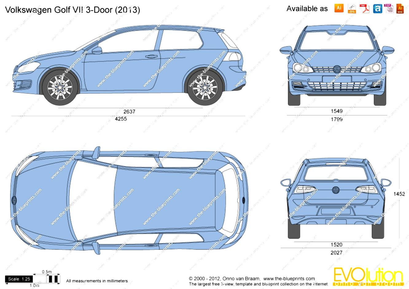 Volkswagen Golf VII 3 Doors 2012 #14