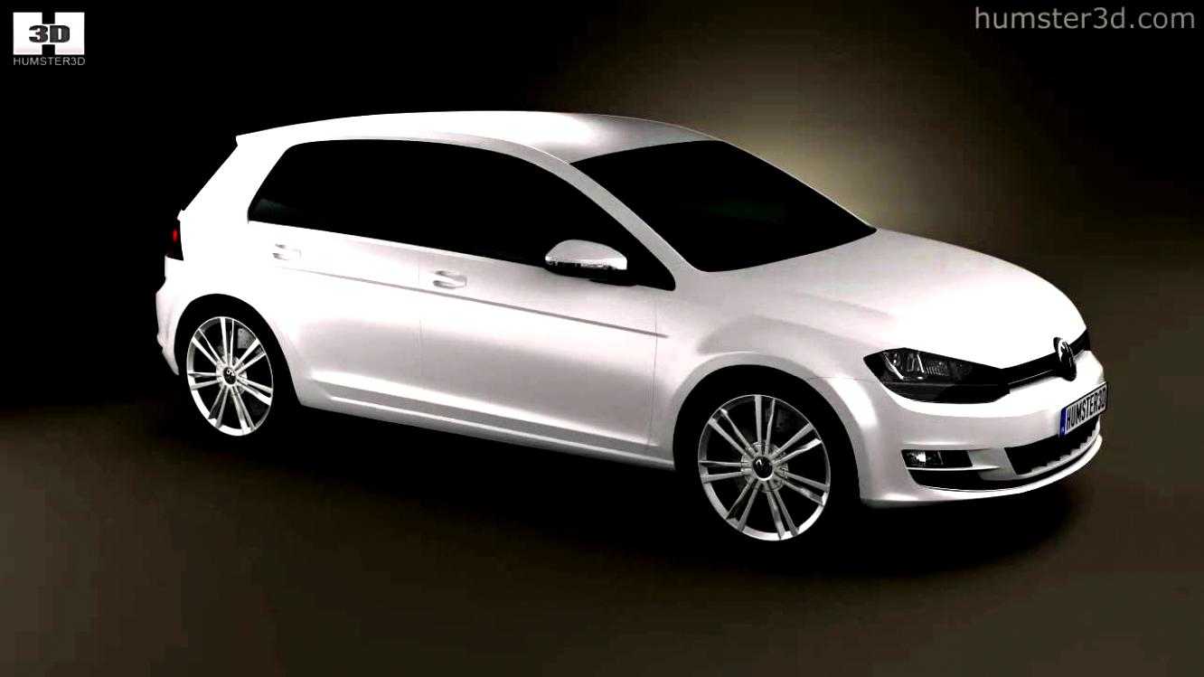 Volkswagen Golf VII 3 Doors 2012 #33