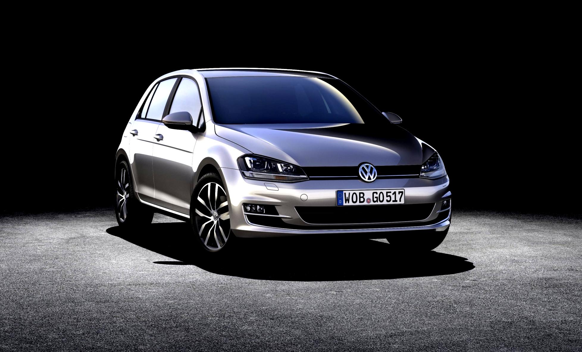 Volkswagen Golf VII 5 Doors 2012 #4