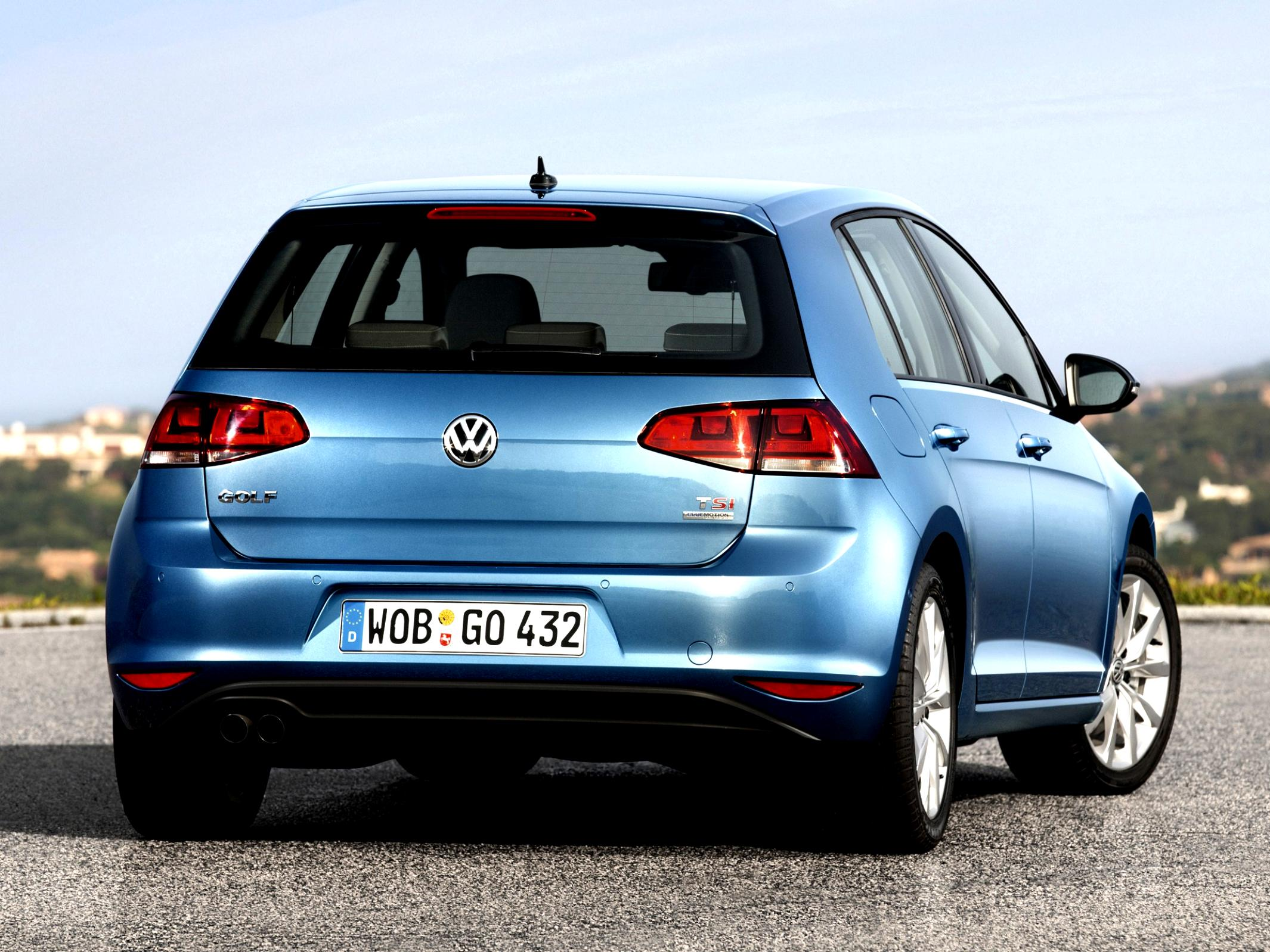 Volkswagen Golf VII 5 Doors 2012 #10