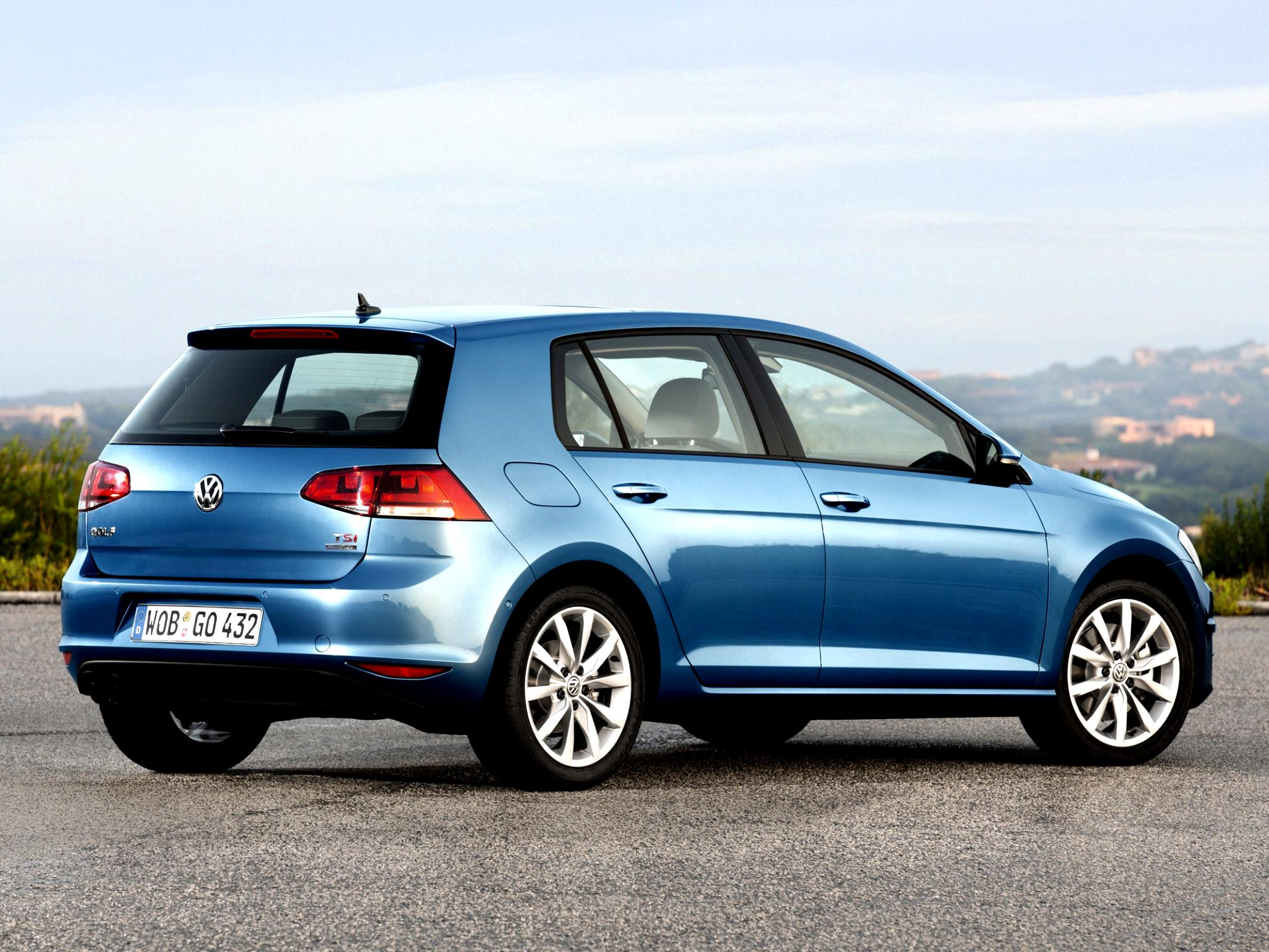 Volkswagen Golf VII 5 Doors 2012 #11