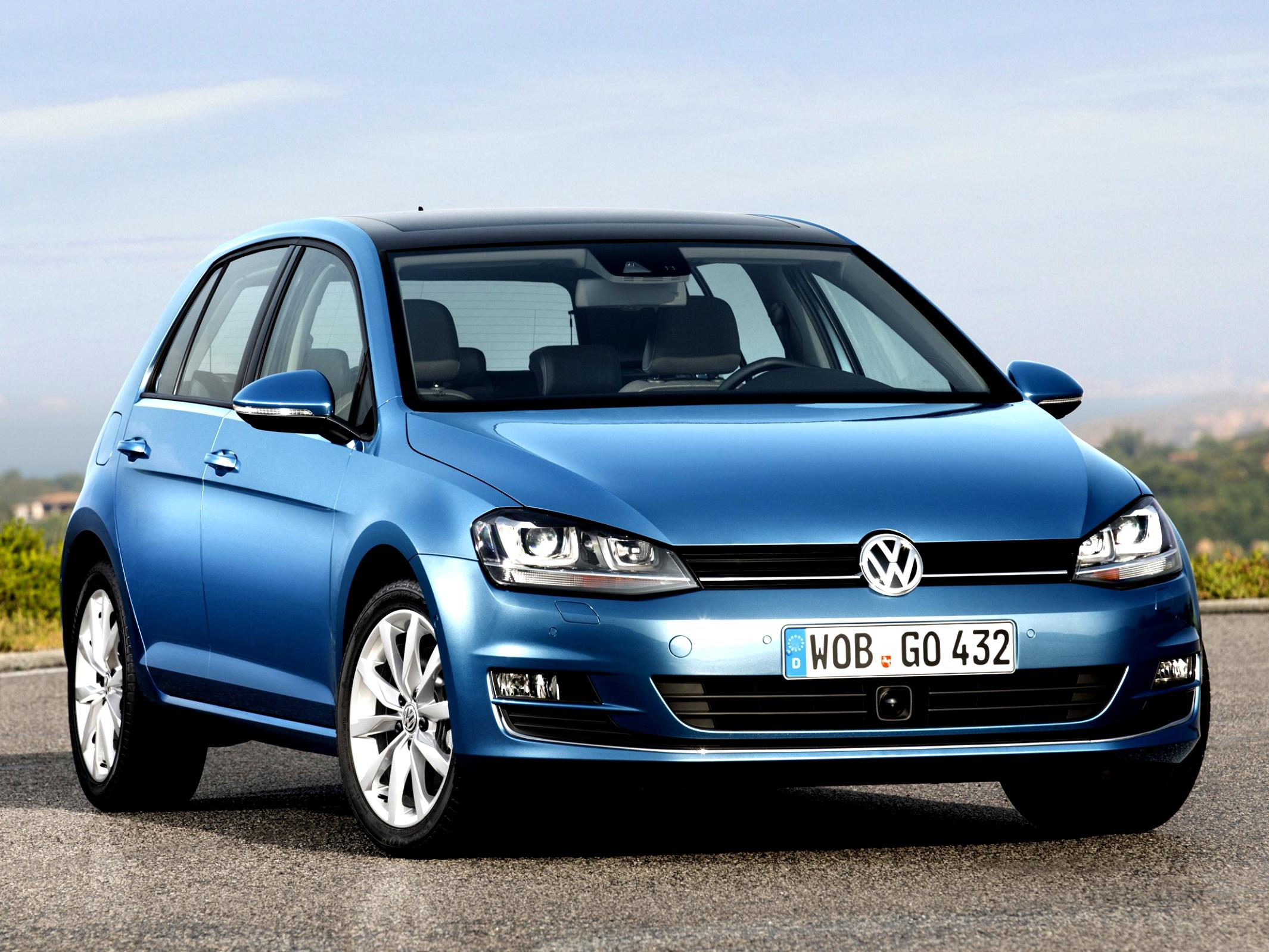 Volkswagen Golf VII 5 Doors 2012 #12