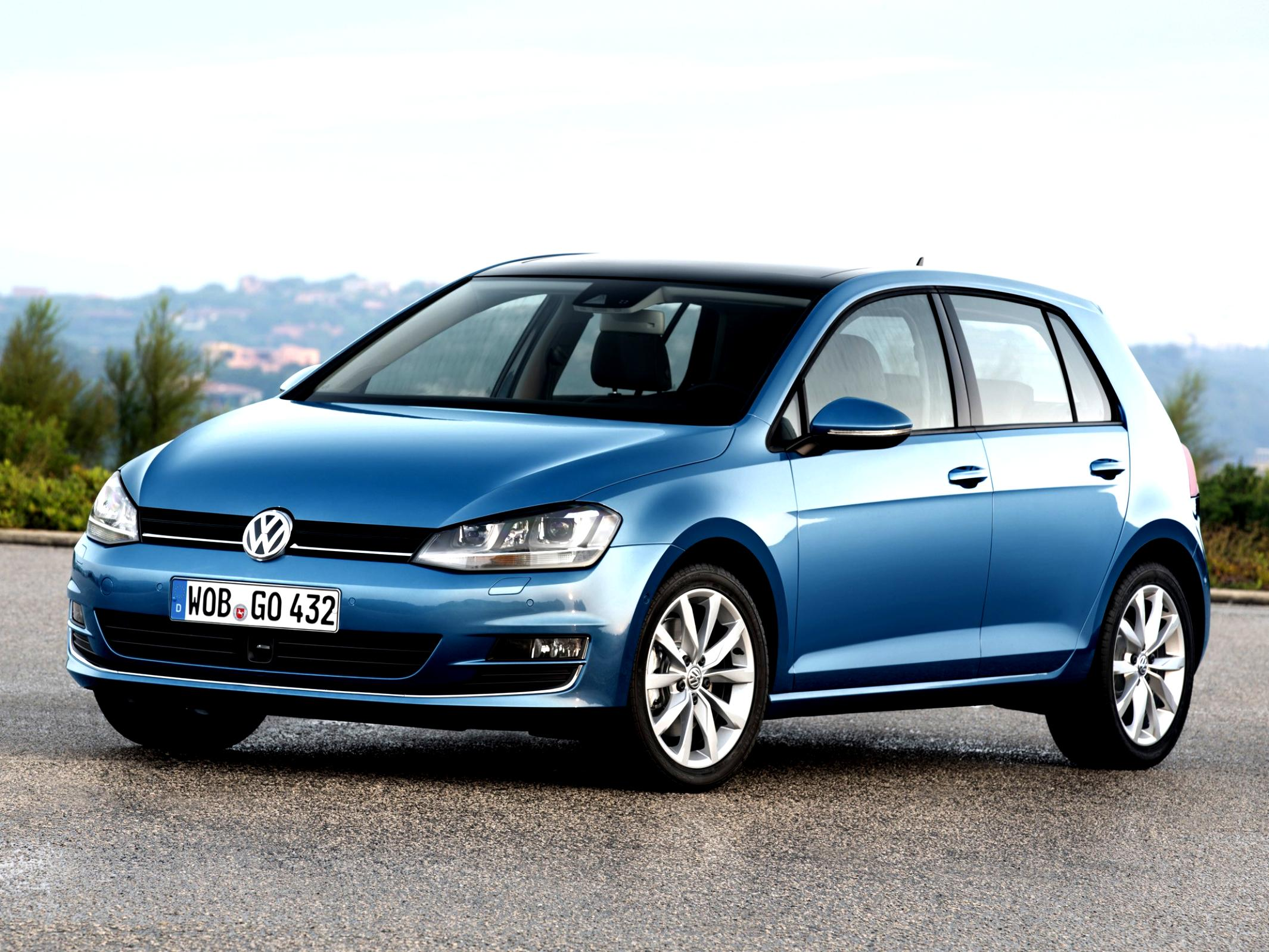 Volkswagen Golf VII 5 Doors 2012 #14
