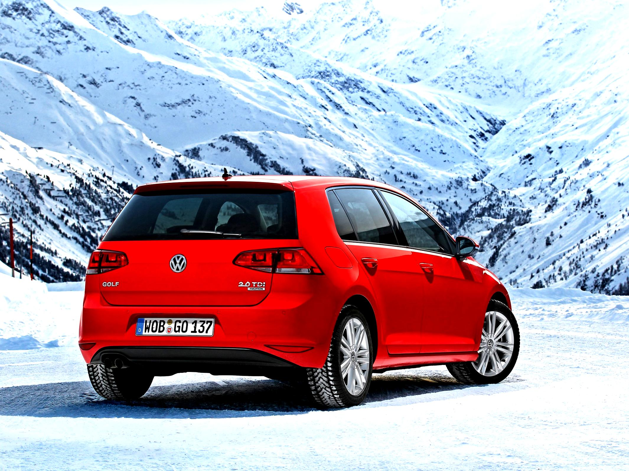 Volkswagen Golf VII 5 Doors 2012 #28