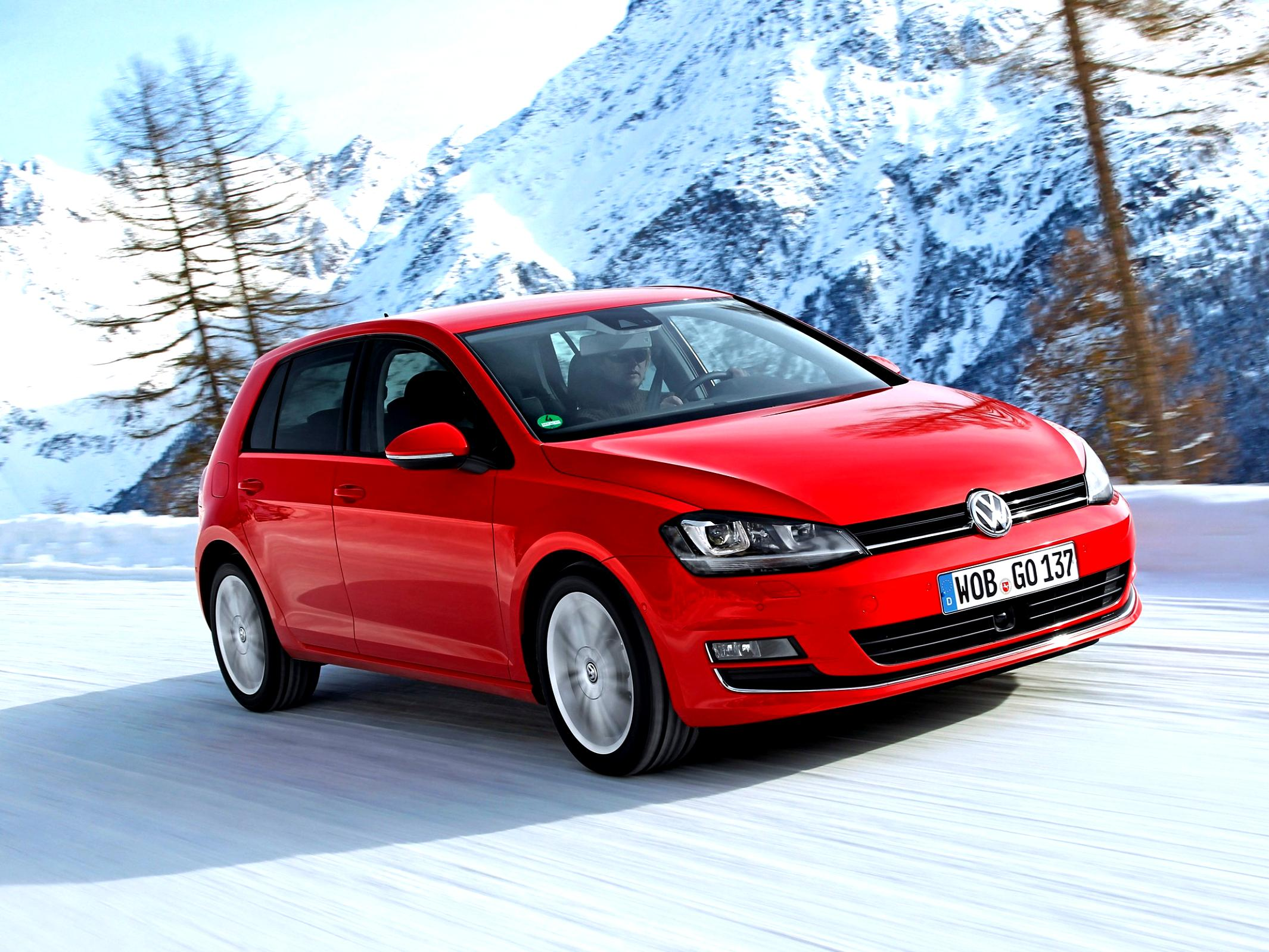 Volkswagen Golf VII 5 Doors 2012 #31