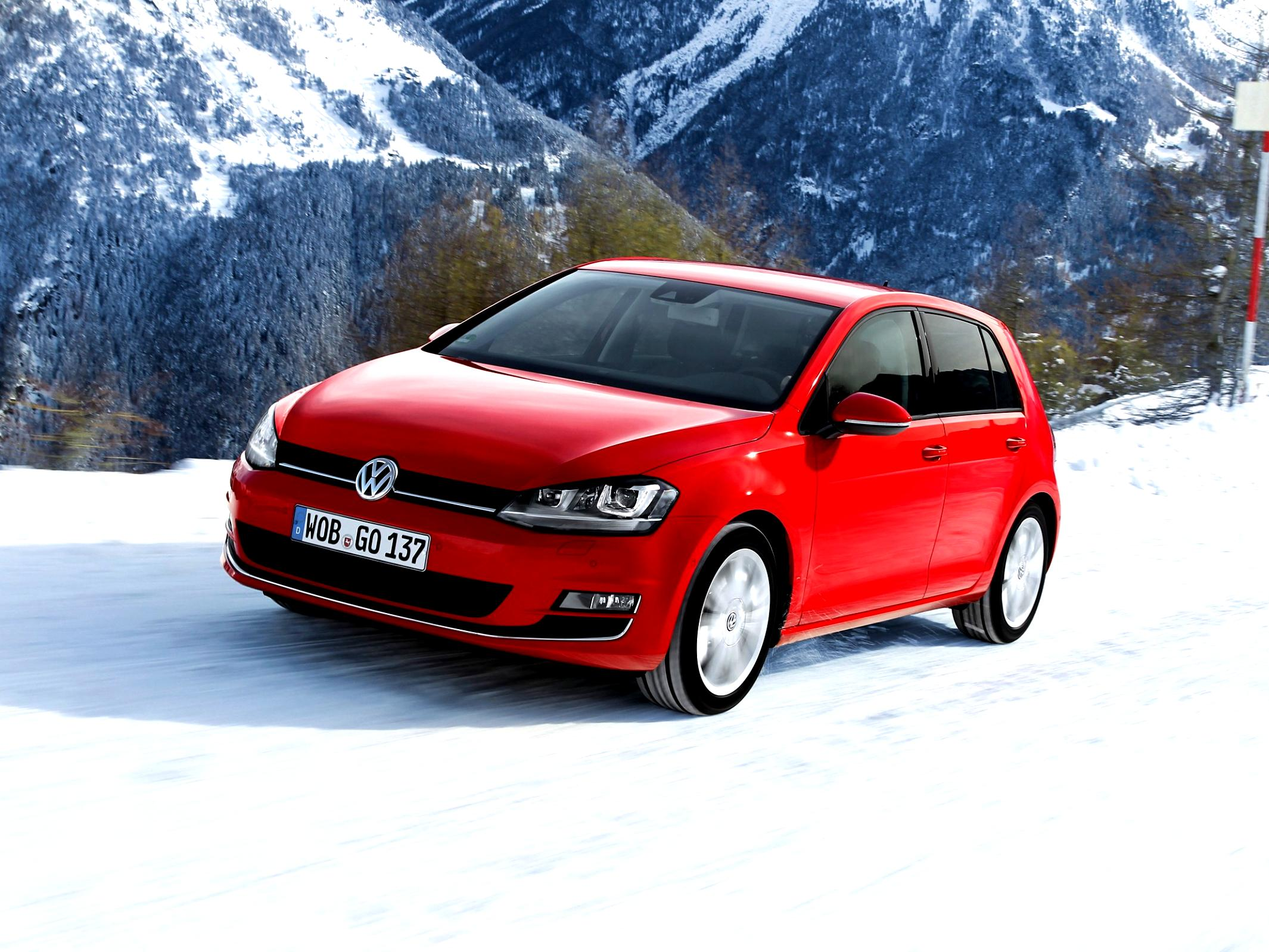 Volkswagen Golf VII 5 Doors 2012 #34