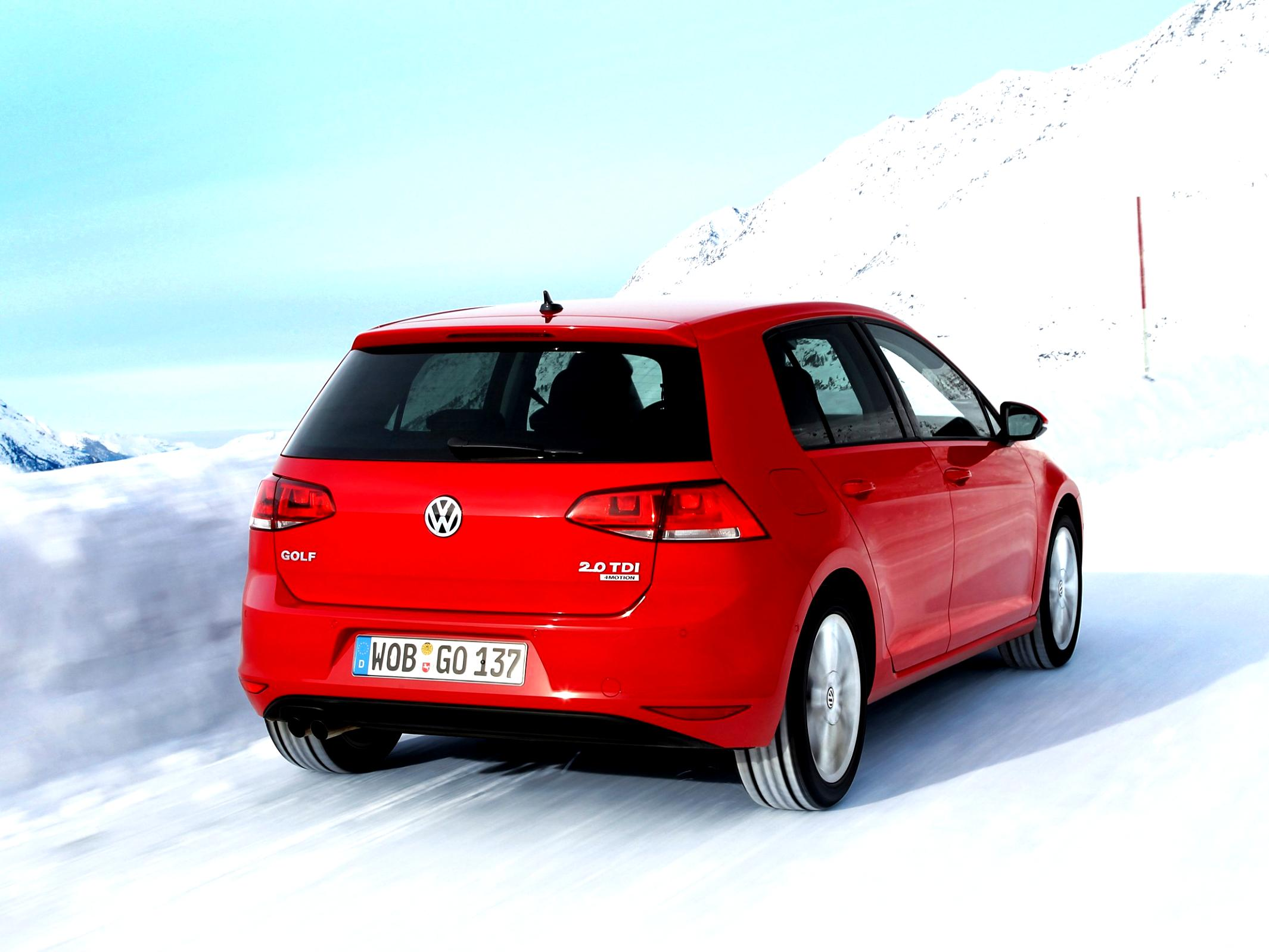Volkswagen Golf VII 5 Doors 2012 #35