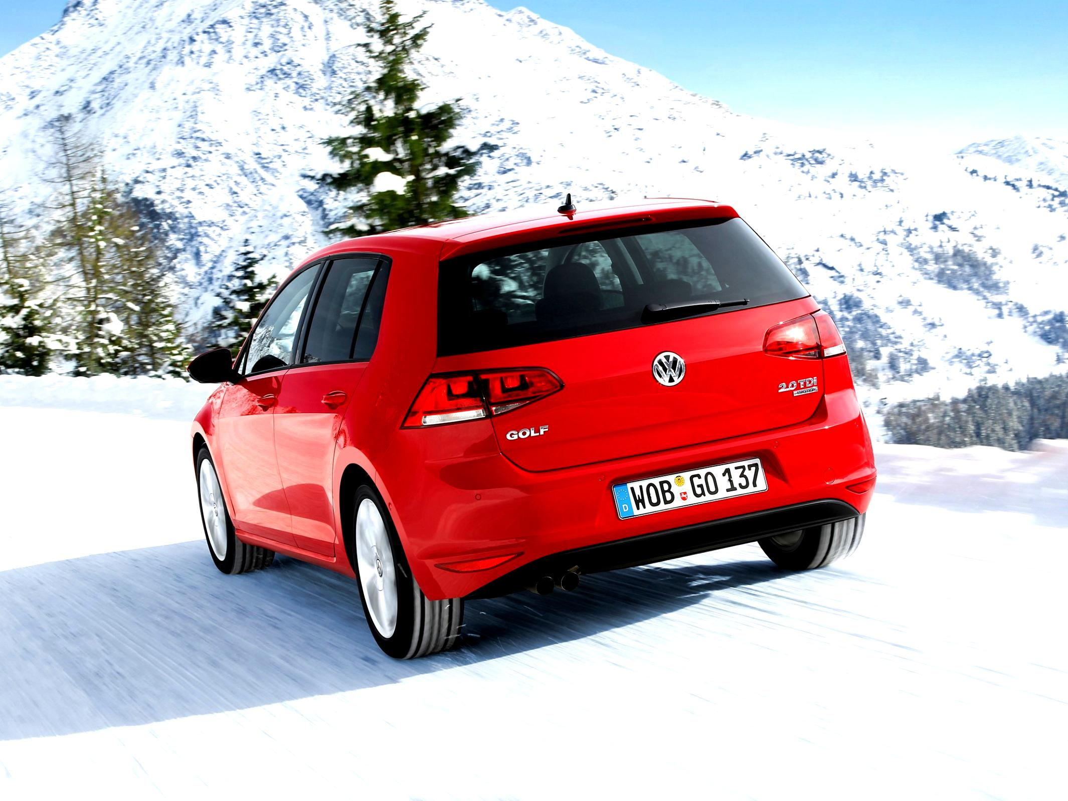 Volkswagen Golf VII 5 Doors 2012 #36